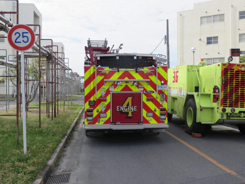 消防自動車