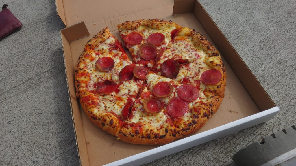 ピザの中身