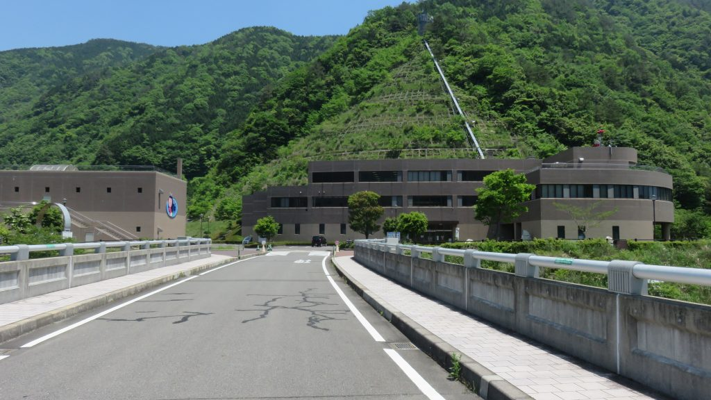 温井ダム施設