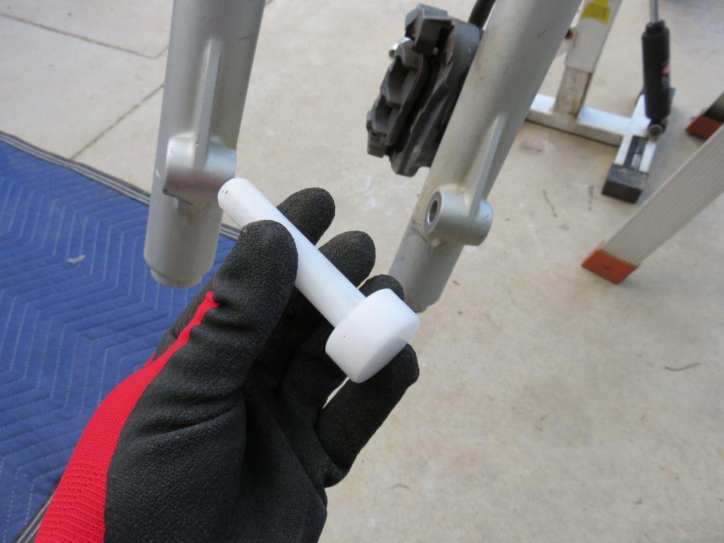 バイクと工具と手