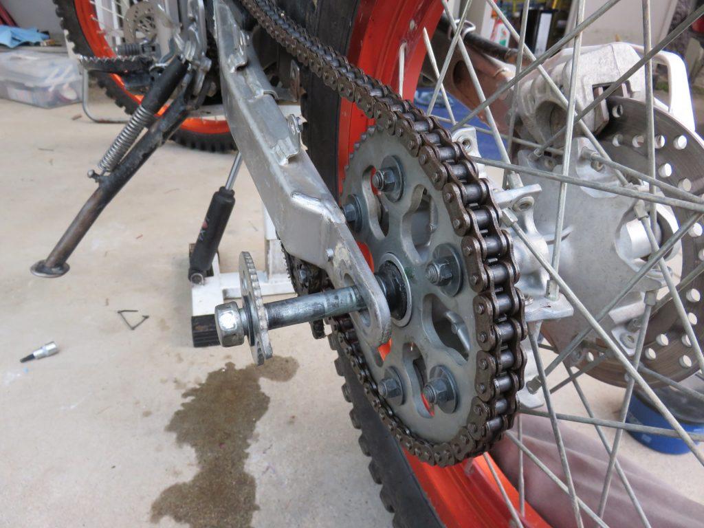 バイクと工具