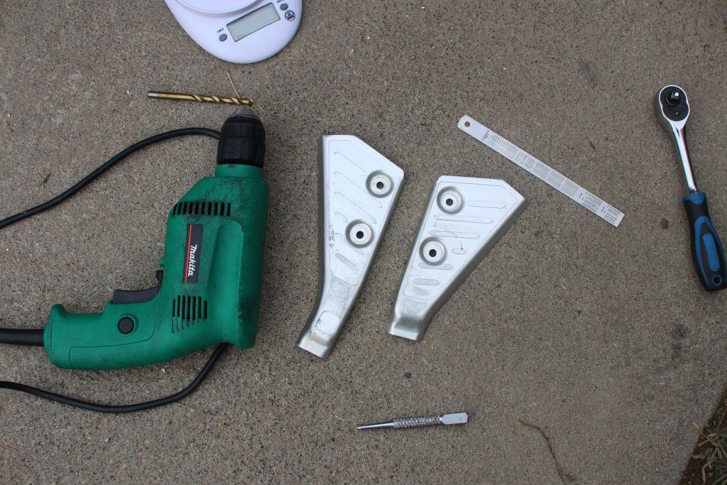 ドリルと工具