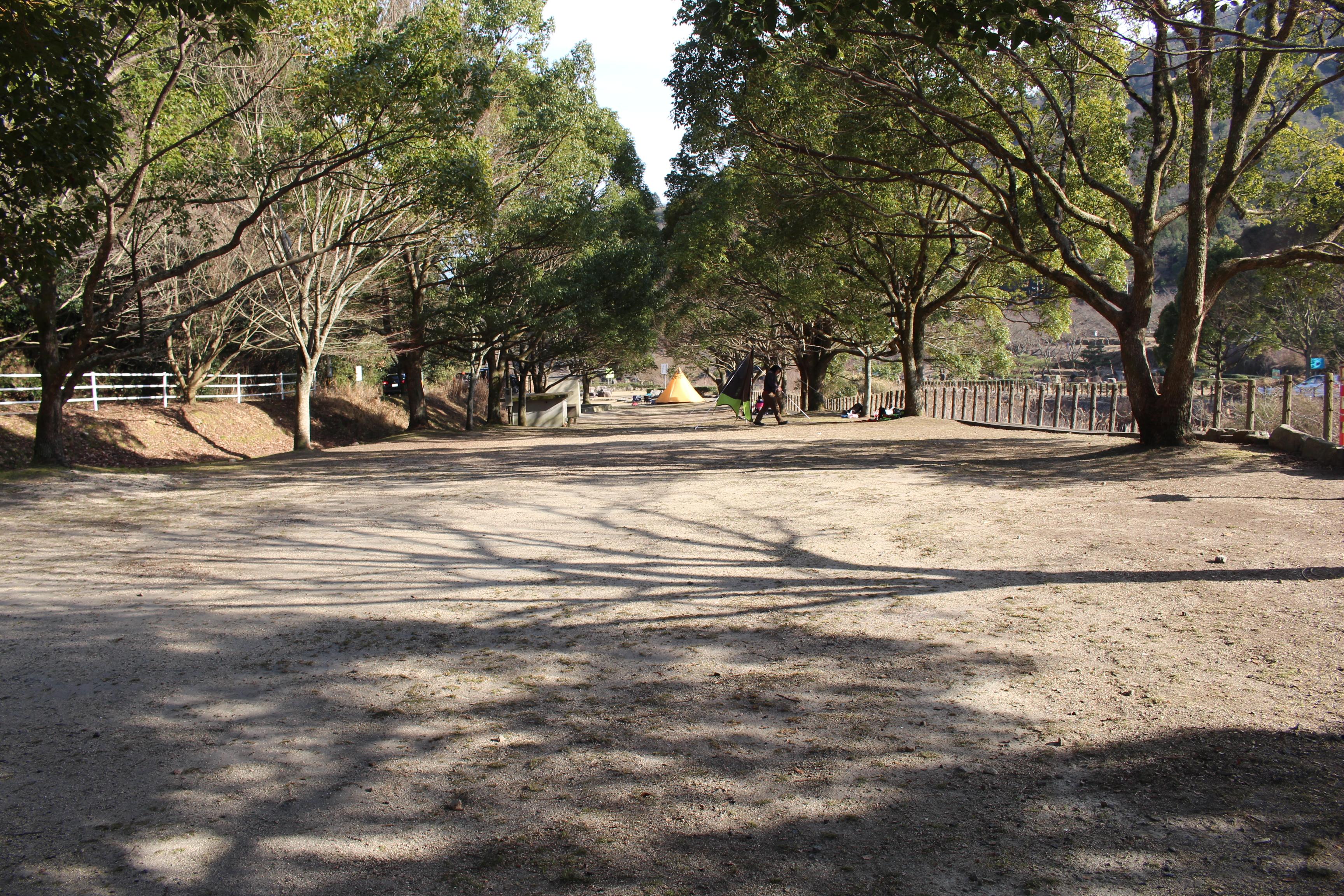 野呂川ダムキャンプ場