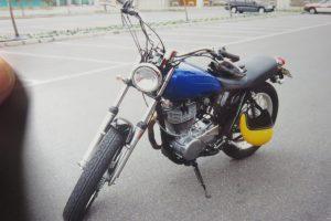 SR400の写真