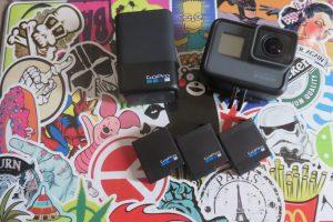 GoProHERO5とバッテリー