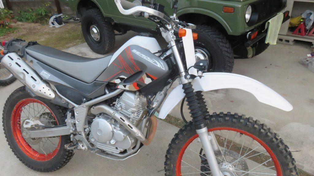 バイクと車