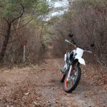 バイクt林道
