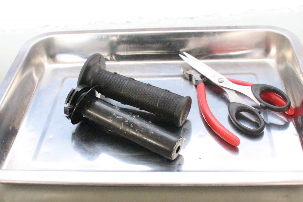 グリップと工具