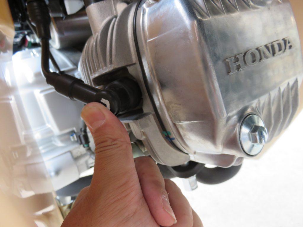 スーパーカブのエンジン