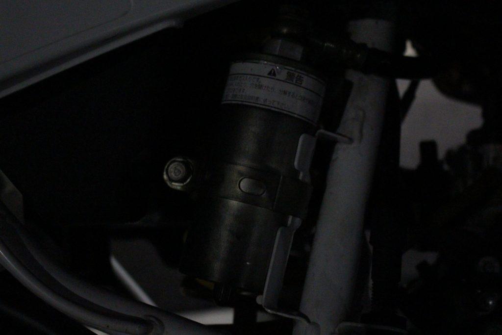 CRM50のサスペンション