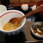 卵かけご飯と味噌汁
