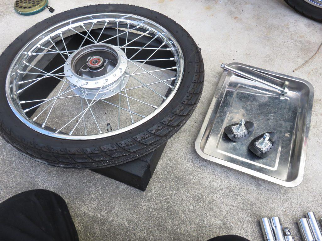 タイヤとビードストッパー