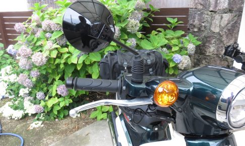 バイクとミラー